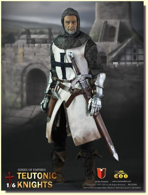 Teutonic Knight Armored Action Figure