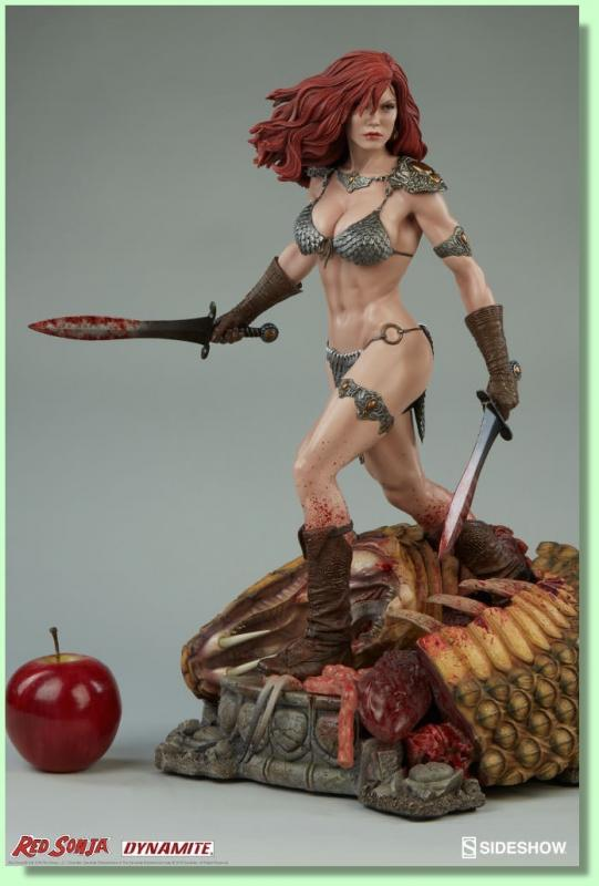 Red Sonja The She-Devil with a Sword Premium Format Figure