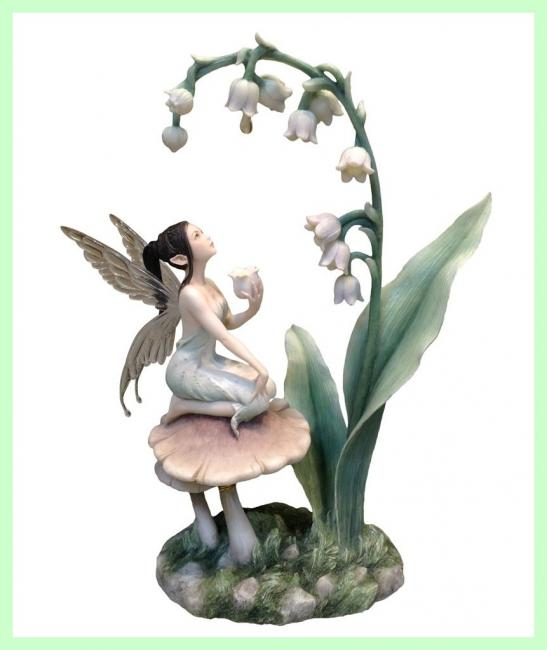 Lily of The Valley Fairy Premium Figure