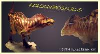 Acrocanthosaurus Fans Choice Action Figure (Resin Kit)  pravěký svět