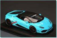 Lamborghini Huracan Turquoise (Baby Blue) 1/18 Die-Cast Vehicle