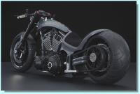 Walz Hardcore Rampage High-End Motorcycle Sixth Scale Replica