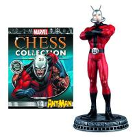 Ant-Man White Pawn Chess Piece & Magazine