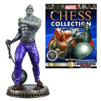 Absorbing Man Black Pawn Chess Piece with Magazine