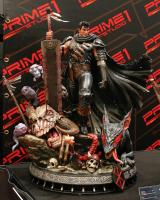 Guts The Black Swordsman And The Beast of Darkness Base Third Scale Statue Diorama
