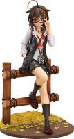 Shigure Casual Outfit Sitting On Fence Anime Figure