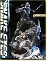 Snake Eyes The Recon Ranger and His Hound Timber Exclusive Statue Diorama