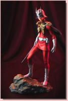 Char Aznable the Red Comet Uniform Statue