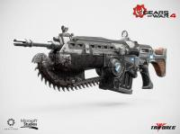 The Upgraded Mark 2 Lancer Assault Rifle 1/1 Replica