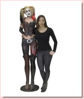 Harley Quinn The Arkham City Life-Size Foam Rubber/Latex Statue Replica