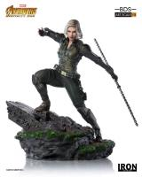 Black Widow The Avengers Infinity War Diorama Art Scale 1/10 Statue