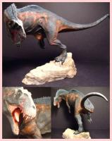 Acrocanthosaurus Fans Choice Collectible Figure (Resin Kit) pravěký svět