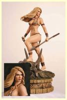 Jana the Jungle Girl Diamond Eye Statue