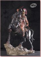 Alexander the Great and Bucephalus His Horse Battlefield Edition Quarter Scale Statue