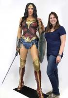 Gal Gadot As Wonder Woman Life-Size Foam Rubber/Latex Statue