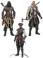 Adewalé Connor Aveline De Grandpré Assassin s Creed III Action Figure Set
