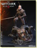 Geralt of Rivia The Witcher Wild Hunt Collectible Quarter Scale Statue