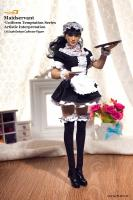 Maid Servant In A Cute French Uniform Sexy Sixth Scale Collector Figure
