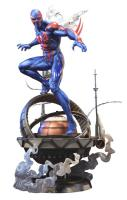 Spider-Man 2099 Atop The Globe Base Statue Diorama
