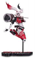Harley Quinn SDCC 2017 Red, White & Black Babs Tarr Statue