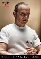 Anthony Hopkins As Hannibal Lecter White Prison Uniform Sixth Scale Collectible Figure