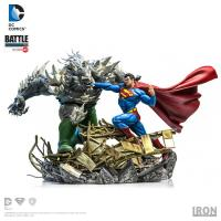 Superman vs Doomsday Battle Art Scale 1/10 Statue Diorama
