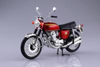 Honda CB750 FOUR (K0) Candy Red 1/12 Die-Cast Motorcycle Model