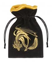 Dragon Dice Black & Golden Bag  váček na kostky