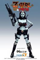 Zombie Warrior The Z-Girl Sixth Scale Collector Action Figure