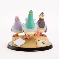 Goodfeathers The Mobster Pigeons Q-Fig MAX Figure Diorama