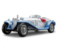 Alfa Romeo 8C 2300 Spider Touring Silver 1/18 Die-Cast Vehicle