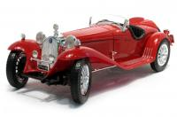 Alfa Romeo 8C 2300 Spider Touring Red 1/18 Die-Cast Vehicle
