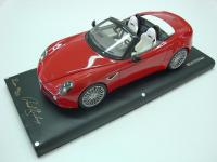 Alfa Romeo 8C Competizione Spider Red 1/18 Die-Cast Vehicle