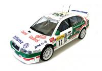 Škoda Octavia WRC Evo2 n. 11 Rally 1/18 Die-Cast Vehicle  model auta Skoda