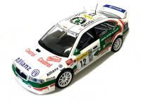 Škoda Octavia WRC Evo2 n. 12 Rally 1/18 Die-Cast Vehicle     model auta Skoda