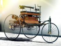 Benz Patent-Motorwagen 1886 Show Livery 1/18 Die-Cast Vehicle