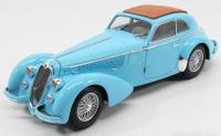 Alfa Romeo 8C 2900B Lungo Carrozzeria Touring Superleggera Light Blue 1/18 Die-Cast Vehicle