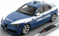 Alfa Romeo Giulia Veloce 2016 Police Car 1/18 Die-Cast Vehicle