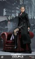 Mrs. Smith As Female Agent Couple Stealth Wool Jacket Sixth Scale Collector Figure