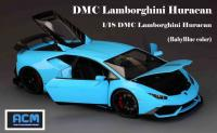 Lamborghini Huracán DMC BabyBlue 1/18 Die-Cast Vehicle