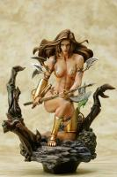 Monicas Axe The Fantasy Figure Gallery Boris Vallejo Statue