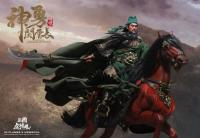 GUAN YUNCHANG The Three Kingdoms TIGER General On Horseback (Red Hare (Chitu) Horse) Sixth Scale Collector Action Figure