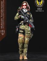 Angela The Multicam Female Hunter UKSAF Sixth Scale Collector Figure