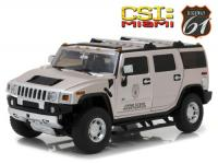 Hummer H2 CSI Miami TV Series 2003 Grey 1/18 Die-Cast Vehicle