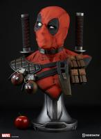 Deadpool The Merc With a Mouth Life Size Bust