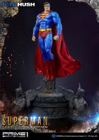 Superman Fabric Cape Atop The Angels Base HUSH Third Scale Statue