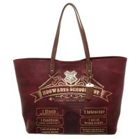Hogwarts School List Harry Potter Shopping Bag  nákupní taška