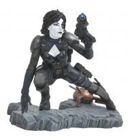Domino Crouching In Action Premier Collection Statue