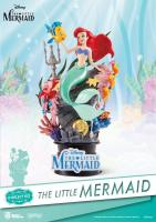 Ariel The Little Mermaid Figure D-Select PVC Diorama mořská víla soška