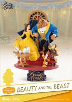 Beauty and the Beast Figure D-Select PVC Diorama Kráska a Zvíře  soška